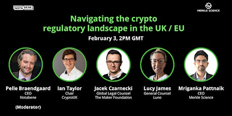 Navigating the crypto regulatory landscape in the UK/EU tickets