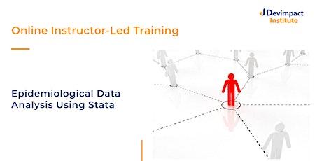 Training on Epidemiological Data Analysis Using Stata tickets
