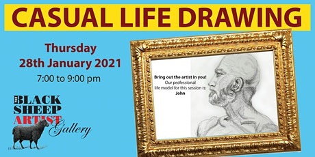 Thursday Casual Life Drawing tickets