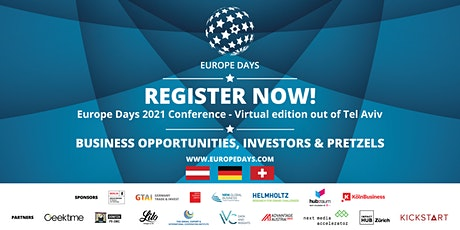 Europe Days 2021 Conference - Virtual edition tickets