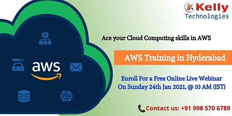 Start Enrolling For AWS Free Demo Session On 24th January At 10 AM [IST] tickets
