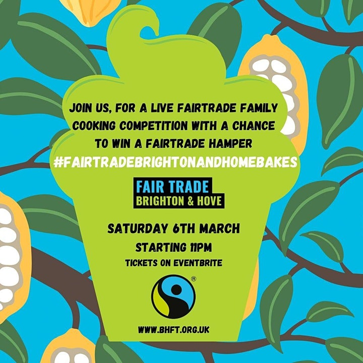 Fair Trade Brighton and Home Bakes 2021: Virtual Baking Competition image
