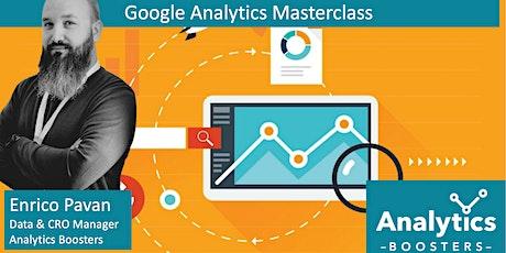 Analytics Masterclass - Spring Edition biglietti