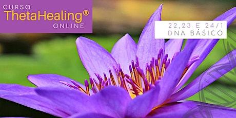 22, 23 e 24 de janeiro – Curso Online ThetaHealing® Dna Básico ingressos