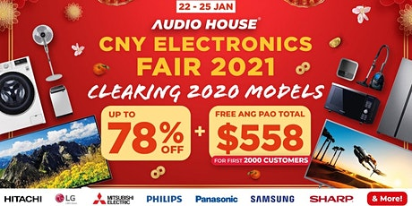 CNY Electronics Fair 2021 tickets