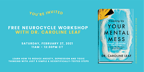 NeuroCycle Workshop with Dr. Caroline Leaf tickets
