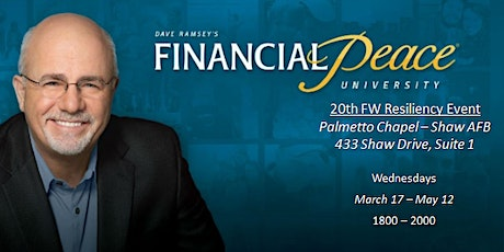 Financial Peace University - Shaw Chapel Session 2 tickets