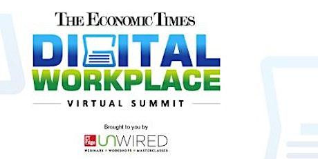 The Economic Times Digital Workplace Virtual Summit tickets