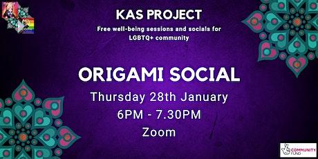 Origami Social tickets