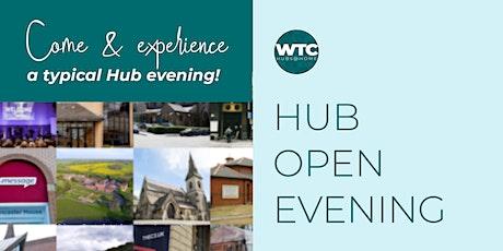 Hub Open Evening for Bris, Camb, E.Mids, Hamp, Manc, Scot and  S.Lon tickets