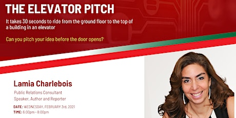 The Elevator Pitch tickets