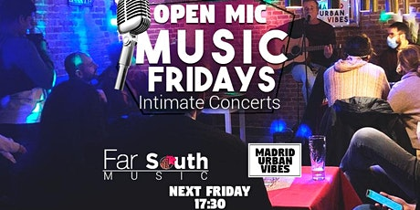 Music Fridays – Intimate Acoustic Concerts! (Open Mic) entradas