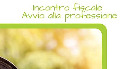 INCONTRO FISCALI DI GRUPPO PER CHI INIZIA LA LIBERA PROFESSIONE- Maggio biglietti