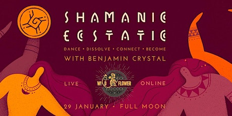 Shamanic Ecstatic Dance with  Benjamin Crystal - Live & Online tickets