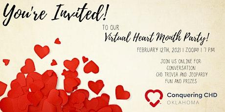 Conquering CHD Oklahoma Virtual Heart Party tickets