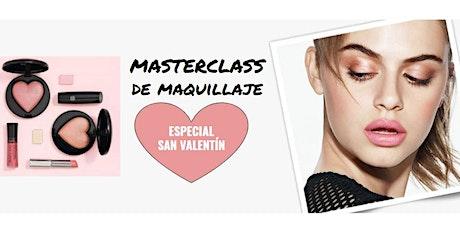 Masterclass de Maquillaje ONLINE - SAN VALENTÍN boletos