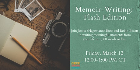 Memoir Writing: Flash Edition tickets