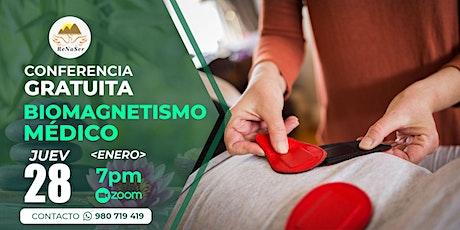 CONFERENCIA GRATIS de  *BIOMAGNETISMO* Medico 2021 entradas