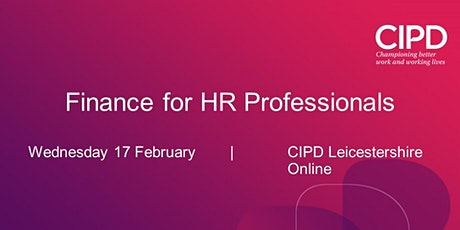 Finance for HR Professionals tickets