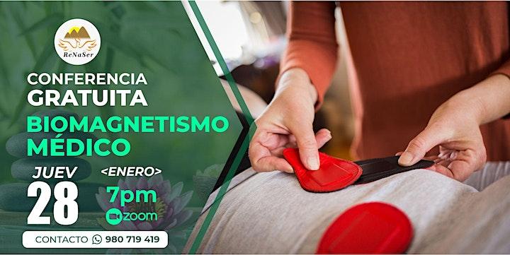 Imagen de CONFERENCIA GRATIS de  *BIOMAGNETISMO* Medico 2021