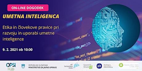 Etika in človekove pravice pri razvoju in uporabi umetne inteligence tickets