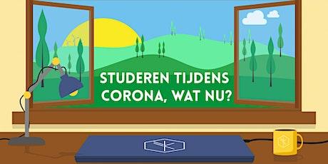 Bloeiserie: Studeren tijdens corona, wat nu? tickets