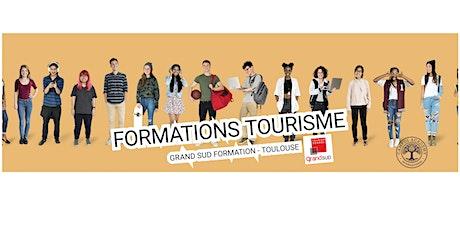 Présentation du BTS Tourisme en distanciel billets