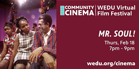 WEDU PBS Community Cinema - Mr. SOUL! tickets