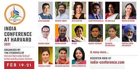 India Conference at Harvard 2021 tickets