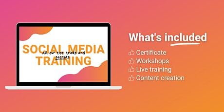 Social Media Training tickets