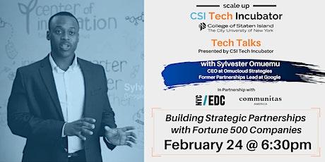 Tech Talks   Sylvester Omuemu, Former Partnerships Lead at Google tickets