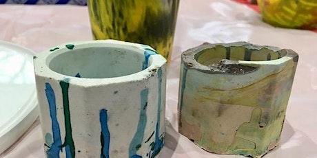 Create Jesmonite Pots with Kim Searle tickets