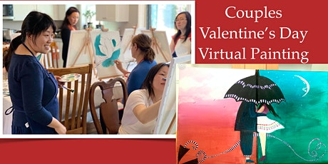 Couples Valentine's Day Virtual Painting tickets