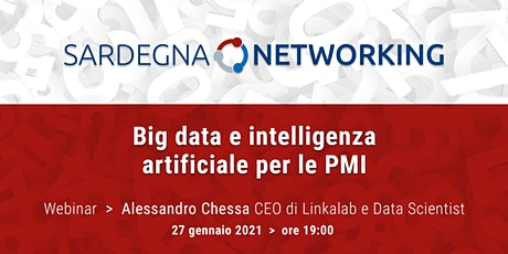 BIG DATA E INTELLIGENZA ARTIFICIALE PER LE PMI biglietti