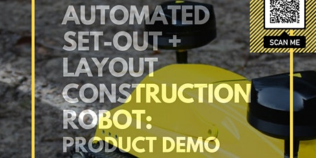 FUTURE OF CONSTRUCTION: New automated construction robot TERRAMARK tickets
