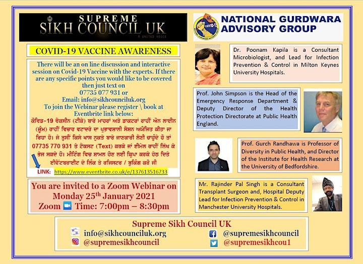 Covid-19  Vaccine Awareness image