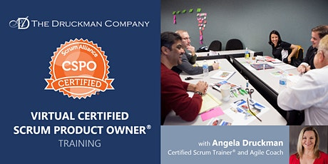 Virtual Certified Scrum Product Owner® | Pacific Time | Apr 22 - 23 tickets