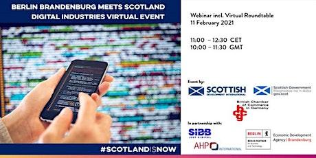 Tech & IT: Berlin Brandenburg meets Scotland tickets