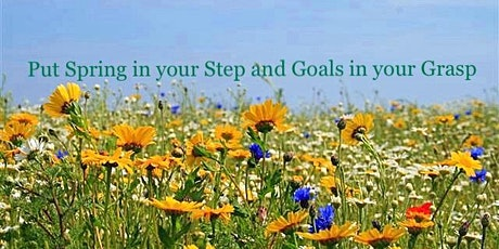 The 4 Step Put Spring in your Step and Goals in your Grasp tickets