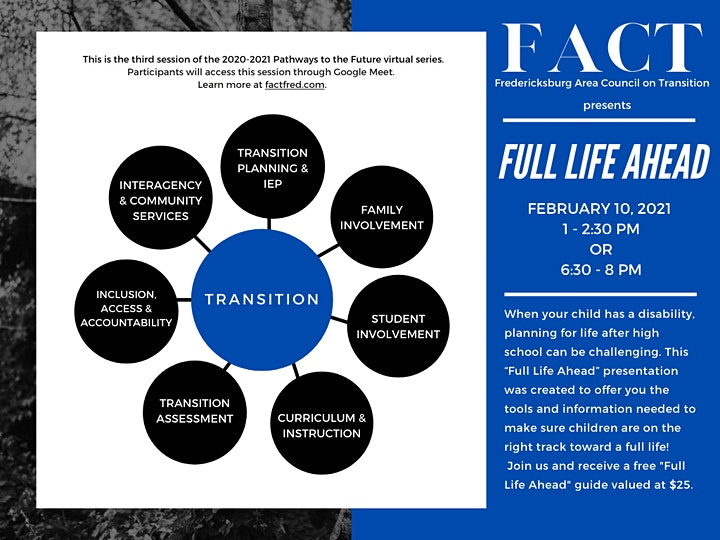 """Full Life Ahead: a """"Pathways to the Future"""" virtual session image"""