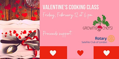 Virtual Valentine's Cooking Class tickets