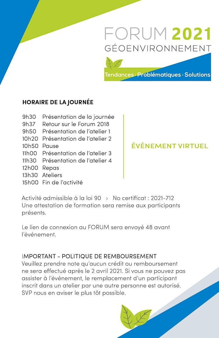 Image de Forum Géoenvironnement 2021