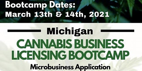 Michigan Cannabis Business Licensing Bootcamp tickets