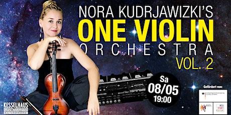 Nora Kudrjawizki's - One Violin Orchestra Vol. 2 Tickets