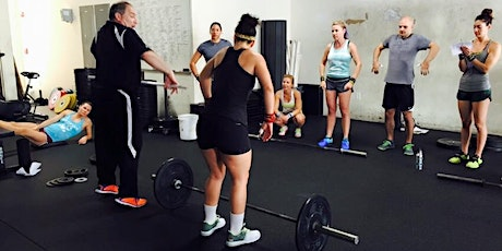 CrossFit Acadia Cohen Weightlifting Seminar tickets