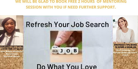 JOB SEARCH AND JOB MAINTENANCE WORKSHOP tickets