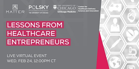 Lessons from Healthcare Entrepreneurs tickets