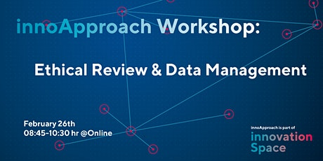 innoApproach:  Ethical Review & Data Management tickets