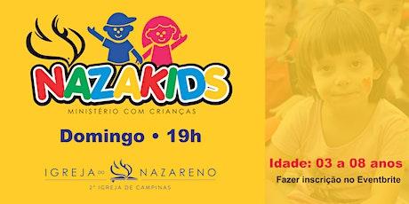 Nazakids (crianças de 3 a 8 anos)  -  07/03 - 19h ingressos