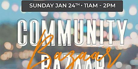 Community Bazaar Giveaway tickets